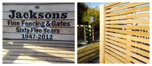 Jackson fencing Ltd.