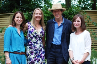 Me with Wendy, Monty and Claire