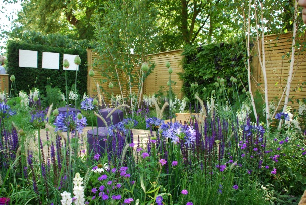The Wellbeing of Women Show Garden – RHS Silver-Gilt Medal Winner and RHS People's Choice Award at RHS Hampton Court Palace Flower Show 2015